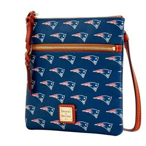 NFL Patriots Double Zip Crossbody Dooney & Bourke